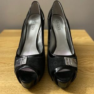Guess Shoes - Guess platform high heels